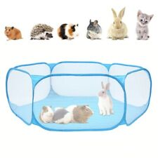 Pet Fence Foldable Small Dog Cat Animal Cage Game Playground Fences for Hamster