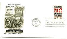 4721 Emancipation Proclamation ArtCraft, FDC