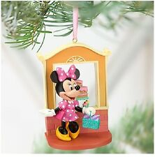 Disney MINNIE MOUSE Shopping Sketchbook Christmas Ornament Mickey Clubhouse