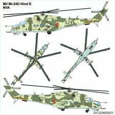 Arsenal-M HO scale MIL MI-24D Hind attack helicopter of East German Army (NVA)