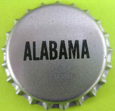 ALABAMA plain Beer CROWN, Bottle CAP Grey Tax cap