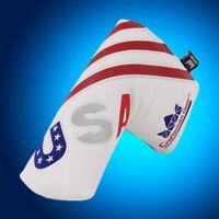 UPGRADE usa flag Craftsman Putter Cover Headcover for Ping Odyssey Taylormade