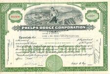 Phelps DODGE CORPORATION 1952