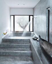 Beton Ciré Kit 4m²,Dusche, Wandbelag, Betonoptik,Microzement, Waschbecken