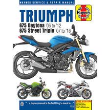 TRIUMPH 675 Daytona Street Triple 2006-10 Haynes Manual De Taller