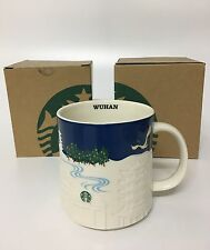 New Rare China Starbucks Wuhan City Relief Mark Mug Special Limited 16oz