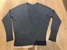 VINCE Cashmere Jumper Sweater Grey V Neck M Medium New NWOT