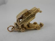 VINTAGE 9ct GOLD MINI CHARM  OPENING CLASSIC MINI CHARM HALLMARKED