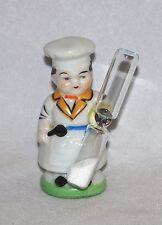 Vintage MIJ chef Egg Timer, Japan
