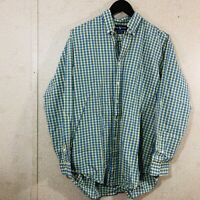 Ralph Lauren Blake Long Sleeve Button Down Shirt Plaid Men's Size M