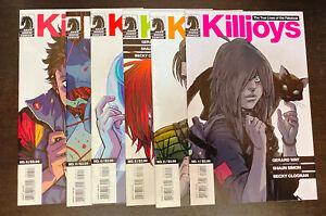 TRUE LIVES FABULOUS KILLJOYS (2013) -- #1 2 3 4 5 6 -- Gerard Way -- FULL Set