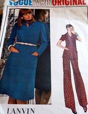 *LOVELY VTG 1970s DRESS & PANTS Sewing Pattern 12/34
