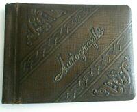 Vintage Autograph Book Johnstown NY Knox Middle School 1943-1945 EUC