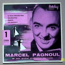 """Marcel PAGNOUL Vinyle 45 T  4 Titres """" Le beau Danube bleu """" BARCLAY"""