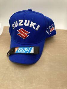 Suzuki Embroidered Baseball Cap Adjustable Strap & KeyringFree Postage Uk Seller
