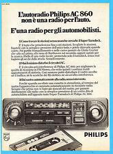 OGGI977-PUBBLICITA'/ADVERTISING-1977- PHILIPS AC 860 AUTORADIO