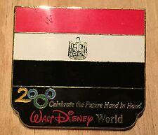 Millennium Village WDW Flag Pin Egypt Pavilion 2000 Disney Pin