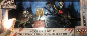 Jurassic Park World Lockwood Ultimate Battle play set Toy Action Figure Mattel