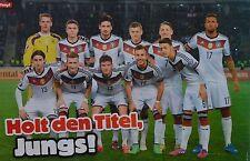 DEUTSCHE NATIONALMANNSCHAFT - A3 Poster (42 x 28 cm) - Manuel Neuer Clippings