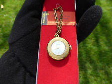 VINTAGE SWISS REUGE MINIATURE MUSIC BOX NECKLACE PENDANT MECHANICAL WINDUP WATCH