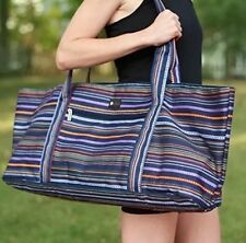 NWT Aurorae Yoga Mat Tote Bag, Extra Wide to Fit Most Yoga Mats and Accessories