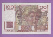 (Ref: B.549)  100 FRANCS JEUNE PAYSAN 4/06/1953 (NEUF)