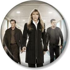 """Fringe - Olivia Dunham Peter & Walter Bishop 25mm 1"""" Pin Button Badge TV Series"""