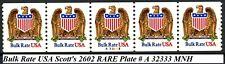 Bulk Rate USA MNH PNC5 SCARCE Plate A32333 Scott's 2602 (Cat $260)