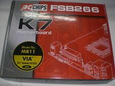 PC CHIPS M811 , nueva, completa,  caja original (para AMD Duron Athlon) PCB