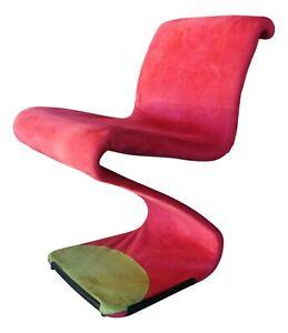 Chair Armchair Design gastone rinaldi Model Z Chair 1970 - 4 Available