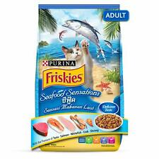 Indian Purina Friskies Seafood Sensation Adult Cat Food from Nestle , 450 g