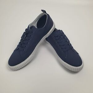 Men's Lyle & Scott Mitchell Trainers Shoes Navy White Size UK 10 BNIB