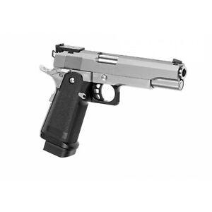 Softair - Pistole - Tokyo Marui - Hi-Capa 5.1 Stainless GBB - ab 18, über 0,5 Jo