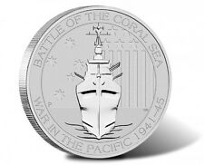 2015 1/2 oz Australian Silver Battle of the Coral Sea (BU)