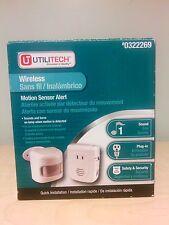 Utilitech Wireless  Security Alert System - Motion Sensor-Plug-in