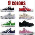 Women Man ALL STARs Chuck Taylor Ox Low High Top shoes casual Canvas Sneakers