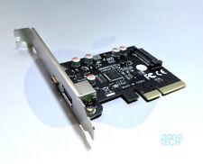 2 Port SuperSpeed Plus USB 3.1 Gen 2 PCIe Card Apple Mac Pro 3,1-5,1 Type-A + C