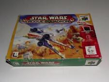 Star Wars Rogue Squadron Nintendo 64 N64 Boxed PAL
