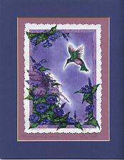 Amy Brown - Hummingbird Dream - Speciality print - SIGNED