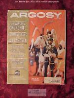ARGOSY magazine APRIL 1961 AVA GARDNER JOE E. BROWN Winston Churchill