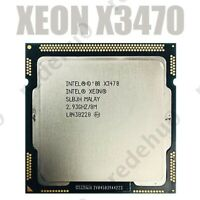 3PCS Intel Xeon X3470 2.933 GHz Quad-Core CPU Processor 95W 8M LGA 1156 used CPU