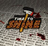 "The Shining Horror Enamel Pin ""Time To Shine"" Stephen King Stanley Kubrick"