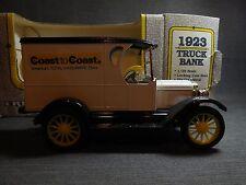 Vintage 1991 ERTL 1923 Chevy Panel Truck Die-cast Locking Coin Bank #9115-10EP