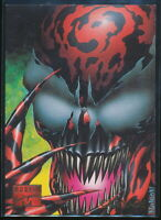 1995 Marvel Masterpieces Trading Card #20 Carnage