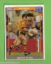 1993 RUGBY LEAGUE CARD #155  BENNY ELIAS, BALMAIN TIGERS