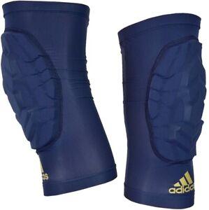 "Adidas Knieschoner ""Knee Pad Sleeve"" Knie Bandage Knieschützer Sport blau navy"