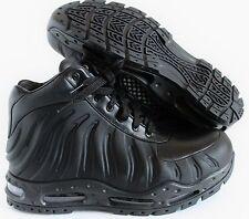 NIKE AIR MAX FOAMDOME FOAMPOSITE BOOTS BLACK-BLACK SZ 8 [843749-002]