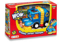 Stanley Street Sweeper from WOW Toys for 1-5 Years Old Children