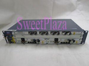 "original ZTE 19"" inch ZXA10 C320 EPON or GPON OLT,  dual DC power supply"