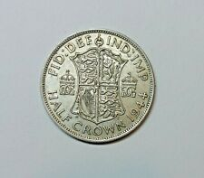 GREAT BRITAIN HALF CROWN 1944 . 0.500 SILVER. KM 856
